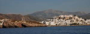 Anfahrt von Naxos