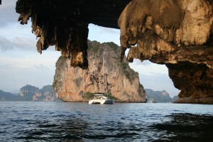 Phang Nga Bucht nahe Rai Le Beach